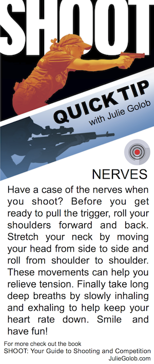 SHOOT Quick Tip - Dealing with Nerves
