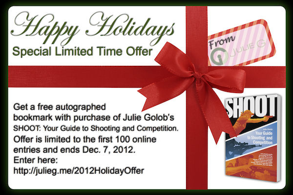 Limited Time Holiday SHOOT Special & Autographed Bookmark Offer