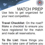 SHOOT Tip - Match Prep