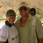 On the range with Michael Rooker