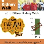 2013 Billings Kidney Walk