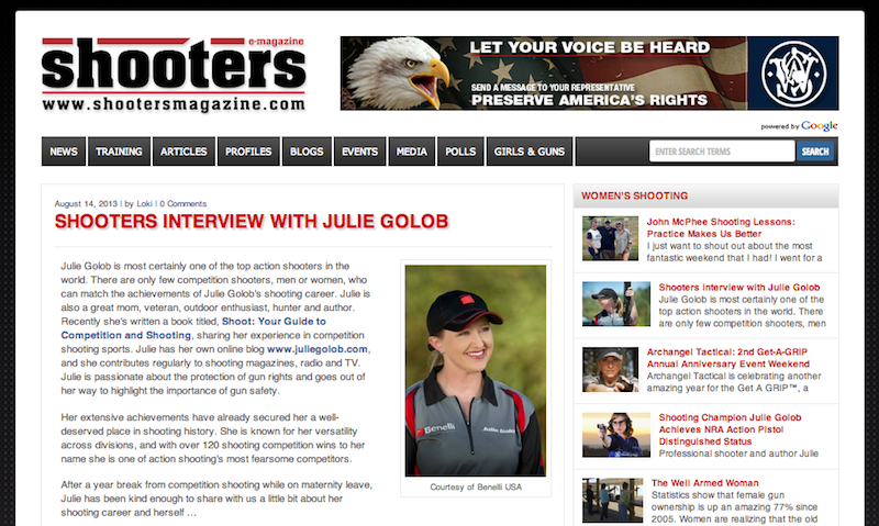 Julie_Golob_Interview_ShootersMagazine