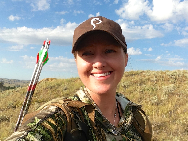 Julie Golob Archery Elk Hunting in Montana with Prois