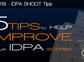 JulieG Radio 019 – 5 Tips to Help Improve Your IDPA Scores