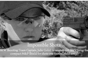 #ImpossibleShots: How far can the M&P Shield Shoot? [Video]