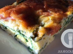 Clean Out the Fridge Easy Crustless Quiche Recipe