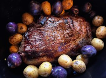 Greek Venison Roast in a Weston Slow Cooker |#FieldtoFork Recipe