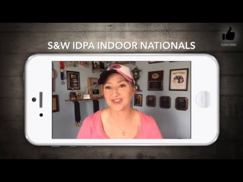 2016 IDPA Indoor Nationals Review |  JulieG.TV #video