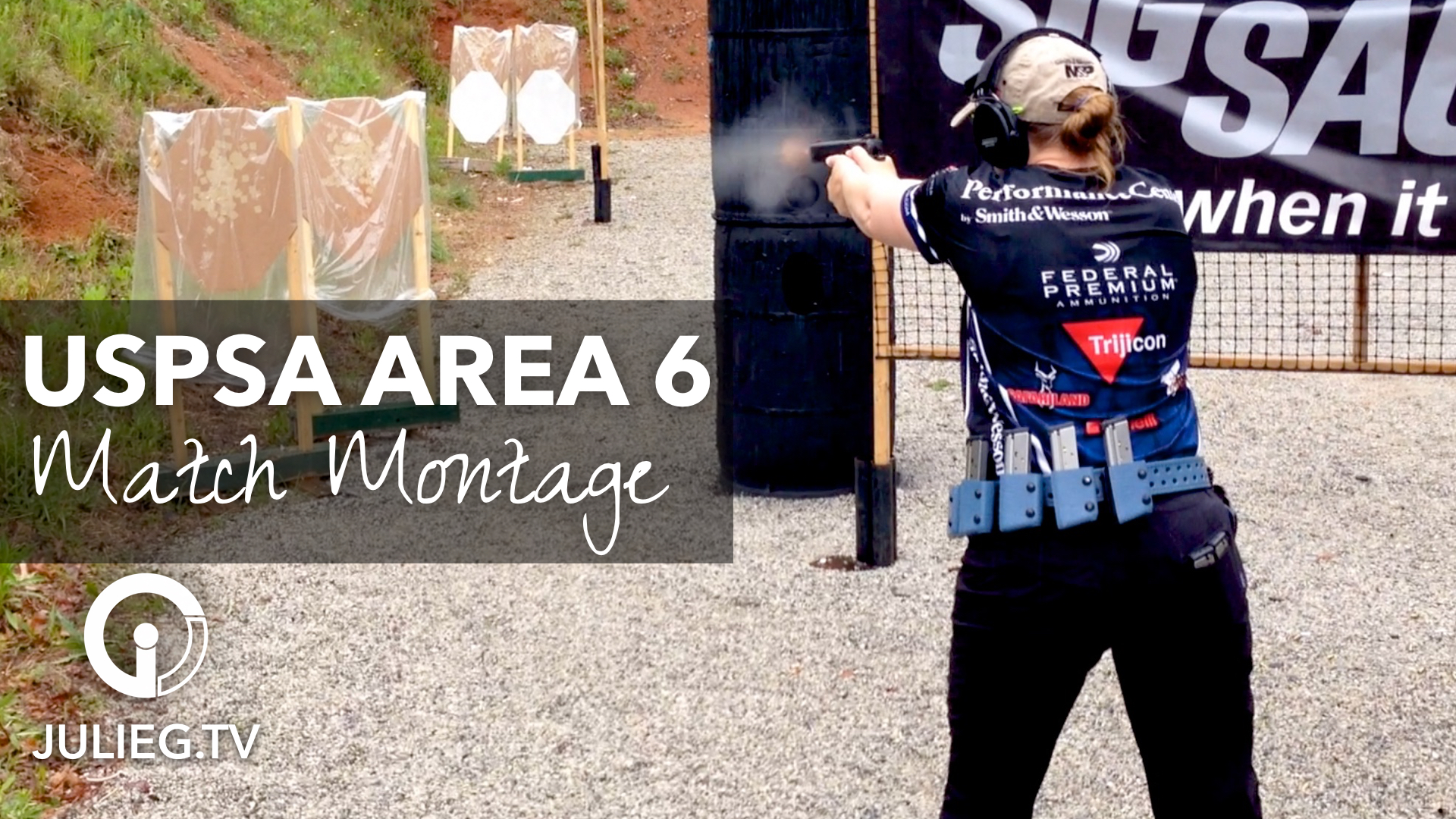 Julie Golob's Match Montage from USPSA Area 6