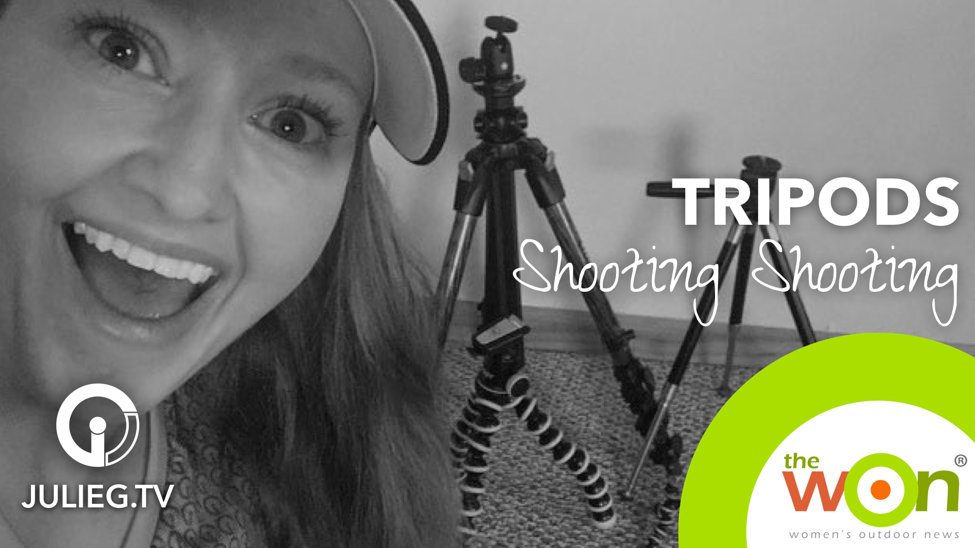 The Tripods I Use to Shoot Shooting| JulieG.TV #sssveda #veda