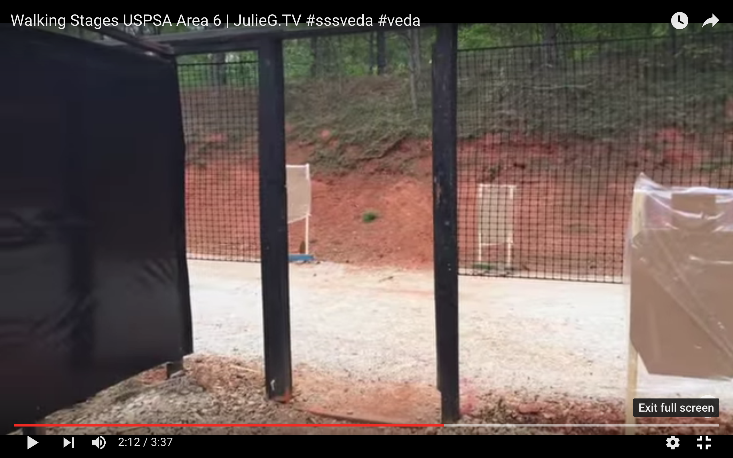 Walking the stages at USPSA Area 6