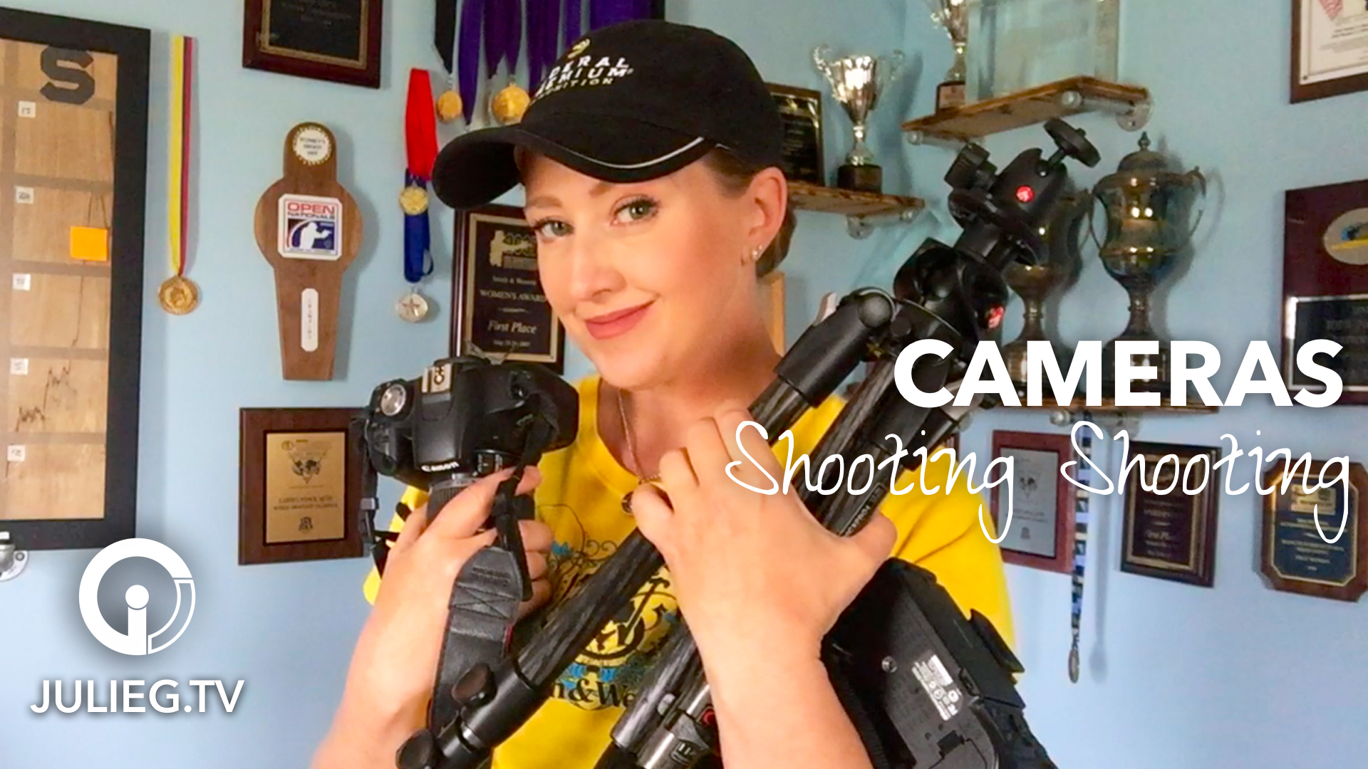 How I Shoot Shooting: Cameras | JulieG.TV #sssveda #veda