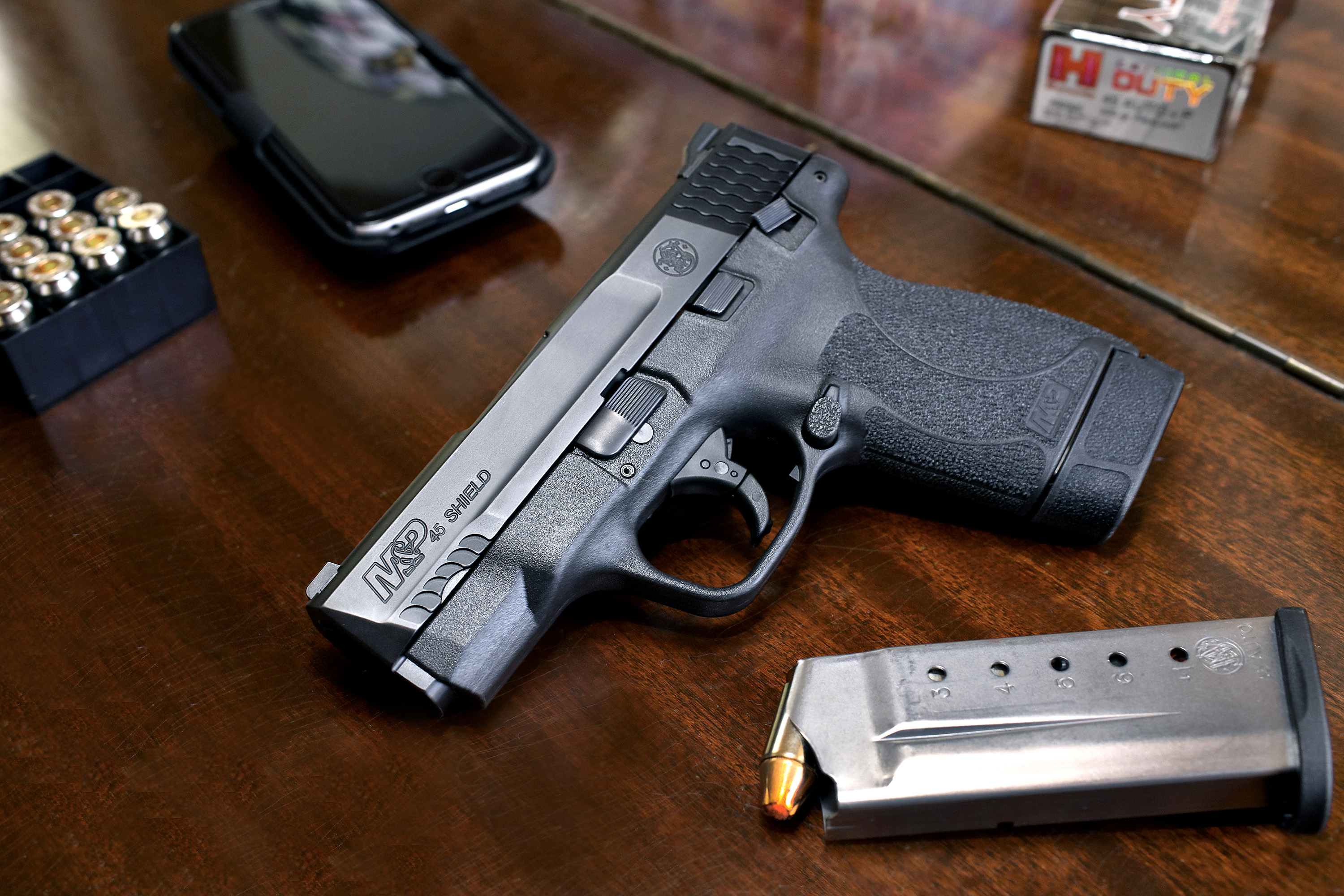 New Smith & Wesson® M&P® SHIELD™ Pistol #video