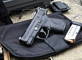 Smith & Wesson Performance Center Shield with Trijicon Night Sights
