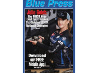 Blue Press Cover Girl (Plus a way to get yours signed)