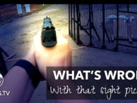 What's wrong with that sight picture? #video | JulieG.TV