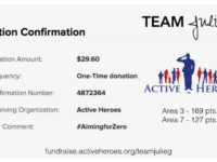 Active Heroes #AimingforZero Donation Area 3 & 7