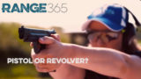Is a pistol a good choice? Shoot Sweet with Julie G & Range365.com #video