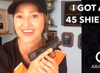New S&W 45 Shield & Full Metal Coloring Giveaway #video | JulieG.TV