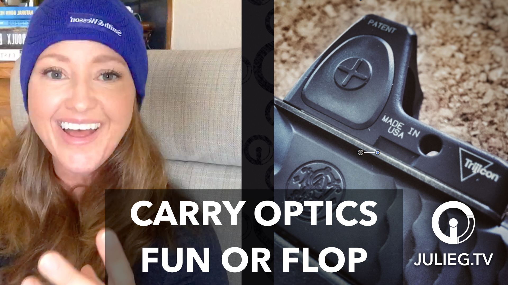 Area 3 & my thoughts on USPSA Carry Optics #video | JulieG.TV