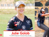 Pinch me… Goal met! Clinching Carry Optics #Video | JulieG.TV
