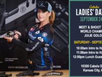 Intro to Handgun and Meet & Greet with Julie Golob at Cabela's Ladies Day Out