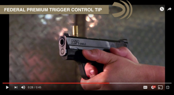 Improve Trigger Control with this Federal Premium Quick Shooting Tip