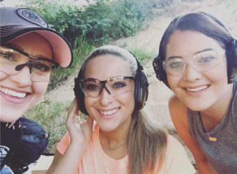 Julie Golob mentors Natalie & Anna on their first practical shooting experience - Love at First Shot