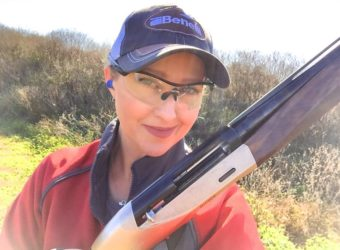 Julie Golob is ready to take on pumpkins with the Benelli Ethos