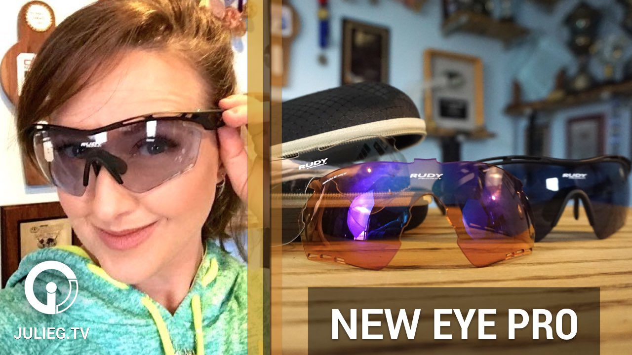 Talking NEW eye protection - Rudy Project Tralyx XL Shooting Kit