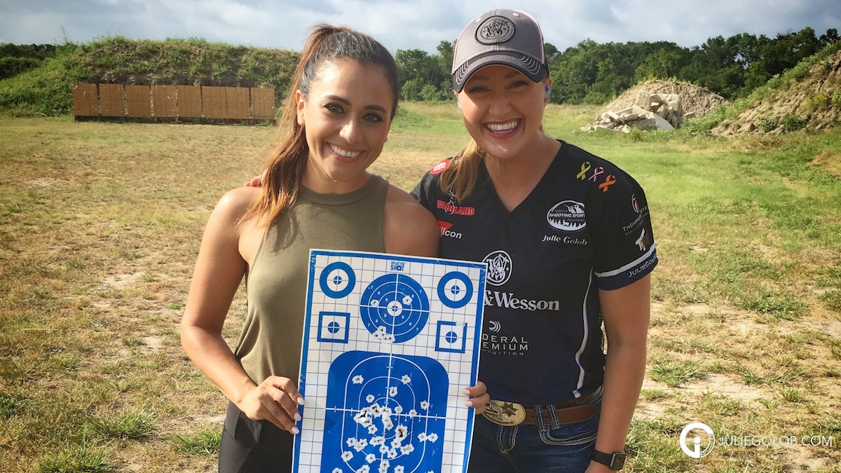 Julie Golob's insights on how to get someone to shoot faster and less timid.