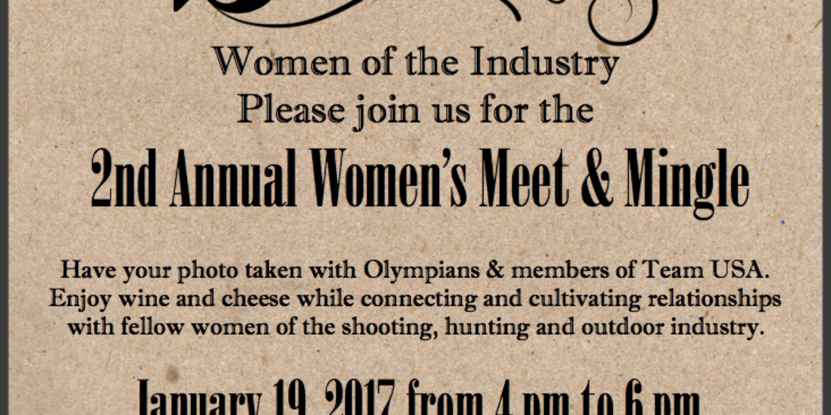 2017 SHOT Womens Meet Mingle