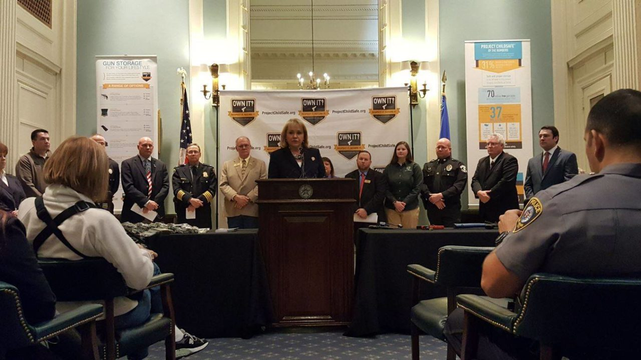 Governor, NSSF, OKC Leaders Launch New Firearms Safety Initiative