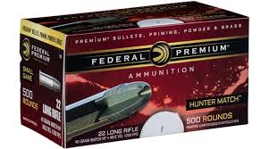 Federal Premium Hunter Match 22 Long Rifle