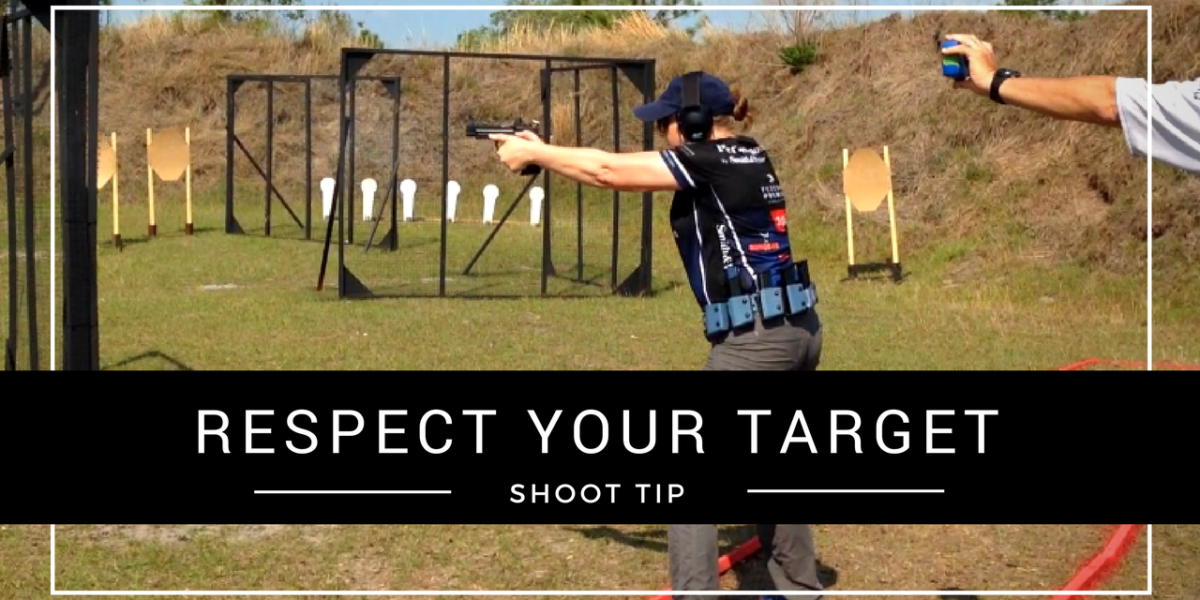 Julie Golob SHOOT Tip: Respect Your Targets