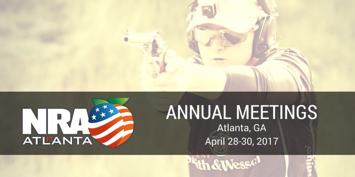 Julie Golob at the 2017 NRA Annual Meetings