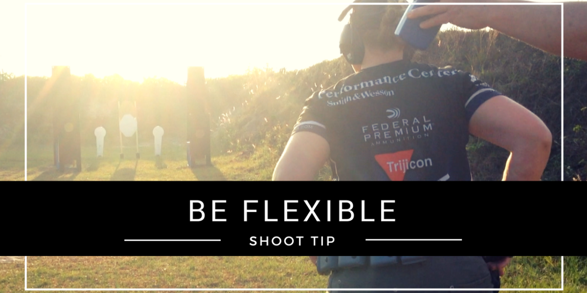 Julie Golob's SHOOT Tip on being mentally flexible