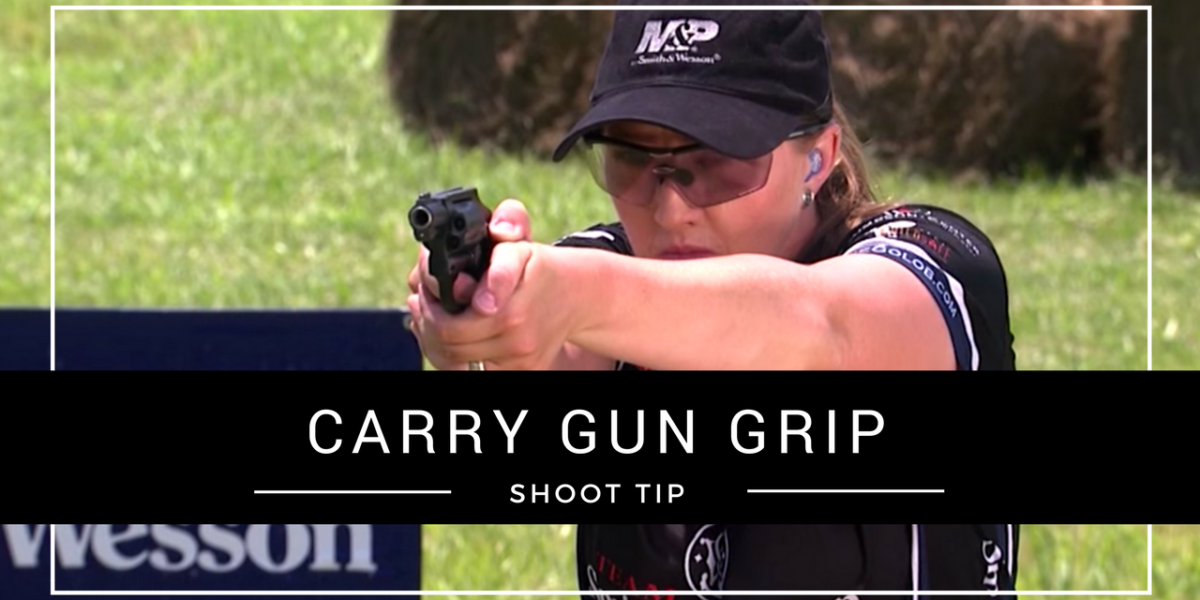 Julie Golob's Shooting USA Pro Tip on Proper Carry Gun Grip