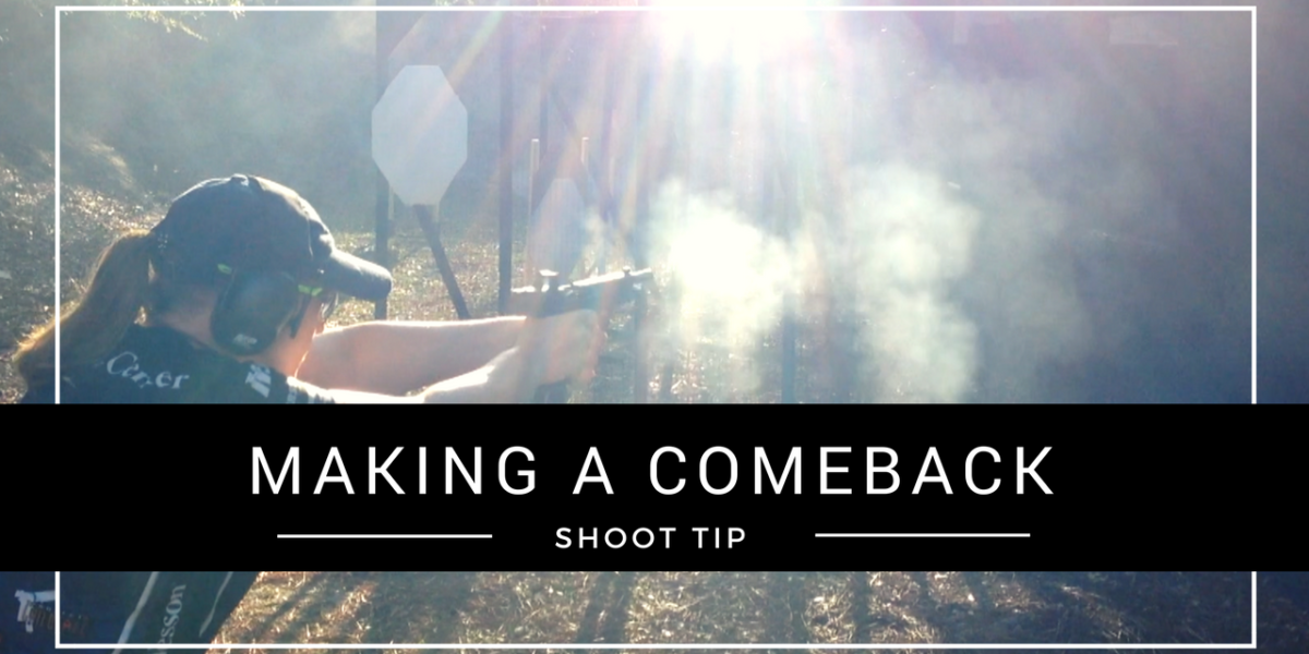 Julie Golob SHOOT Tip - Making a Comeback