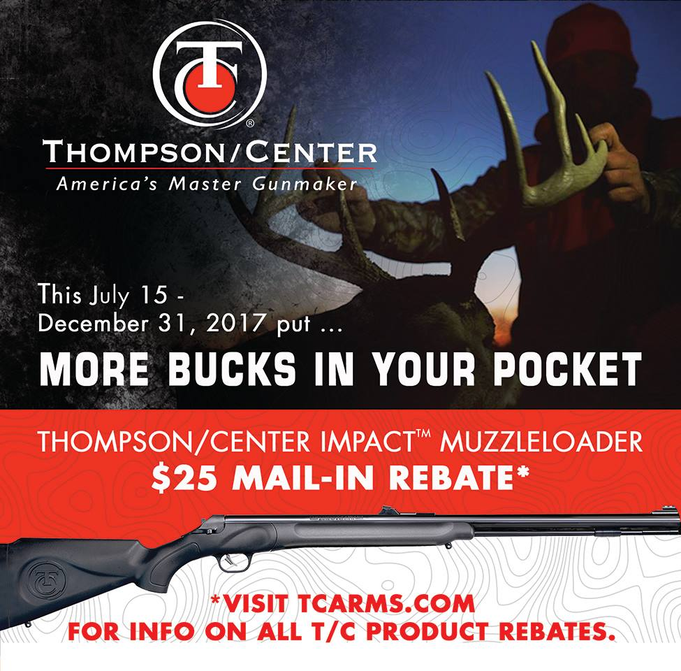 Thompson/Center Mail in Rebate