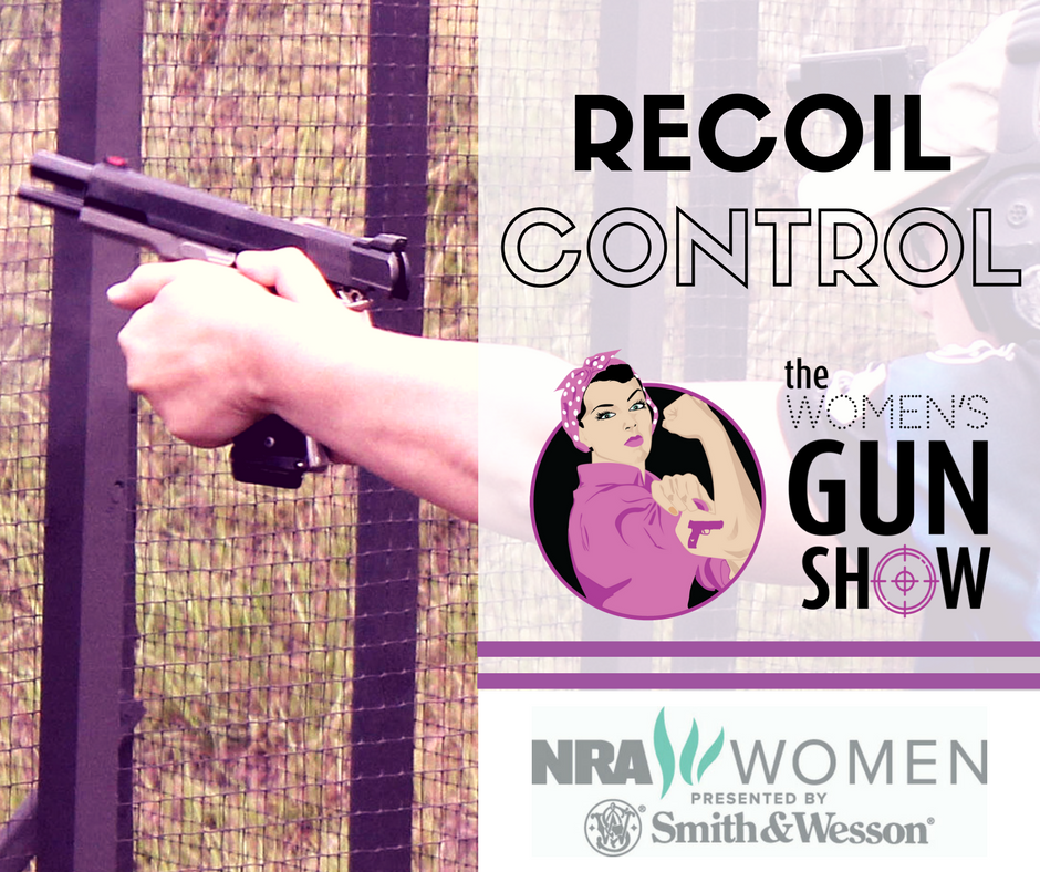 Tip Time on how to manage recoil with Julie Golob on the Women's Gun Show Podcast