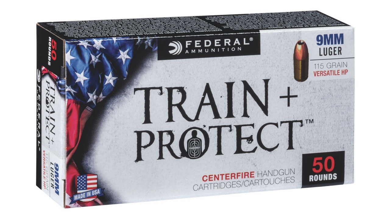 Federal Launches a New Line of Dual-Purpose Train + Protect Versatile HP Ammunition