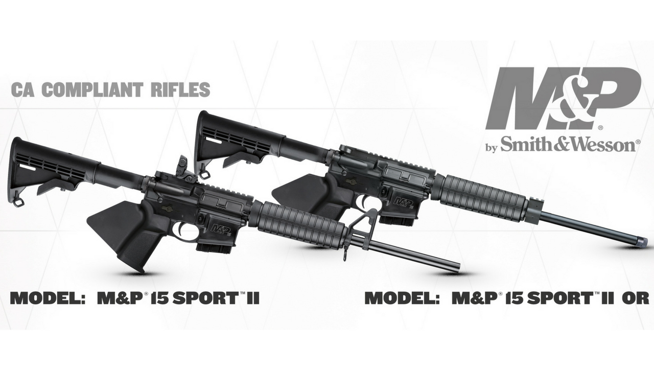 CA Compliant Smith & Wesson M&P Rifles