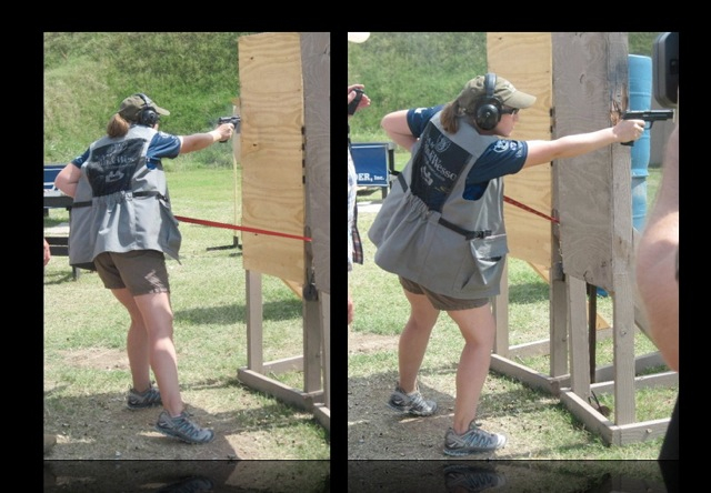 Julie G, 2010 IDPA Ladies National Champion - Photos Courtesy of Leigh Ann Jeter