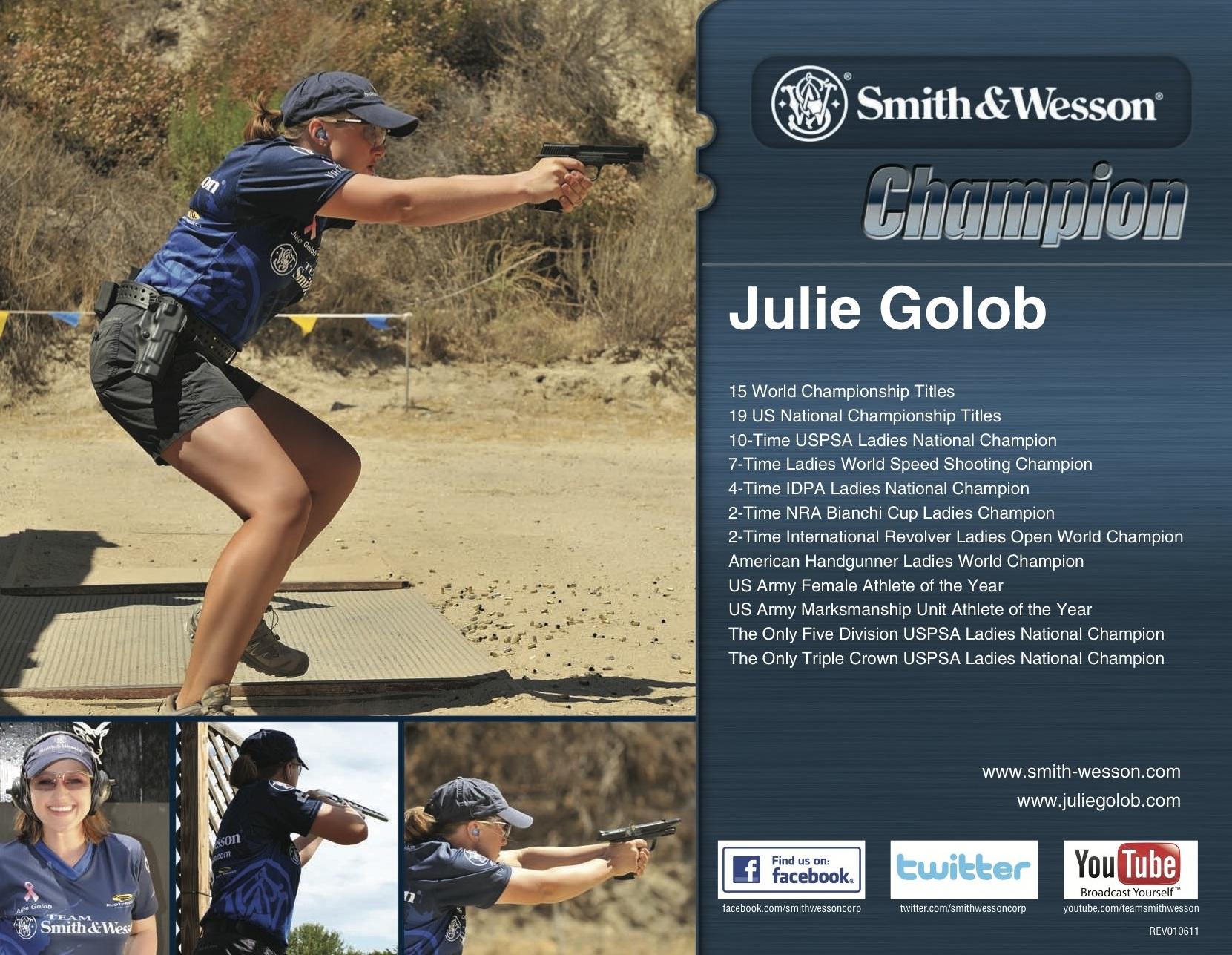 Julie G - 2011 Autograph 8x10