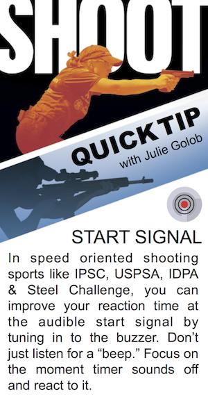 SHOOT Tip with JulieG - Start Signal
