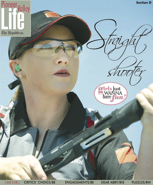 Straight Shooter - Springfield Republican Feature on Julie Golob