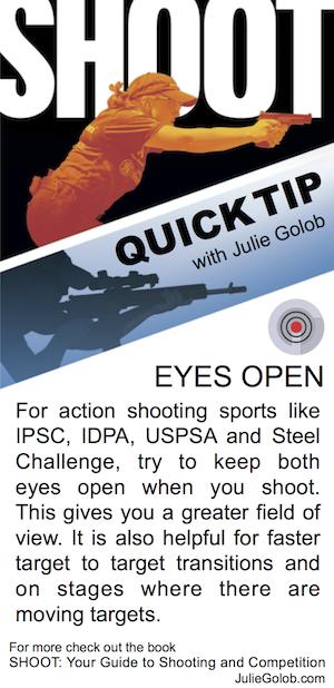 SHOOT Tip - Eyes Open