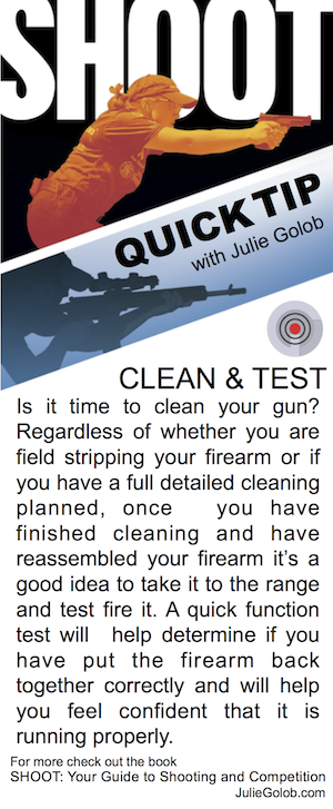 SHOOT Tip - Clean & Test