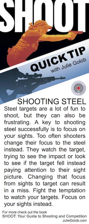 SHOOT Quick Tip - Shooting Steel